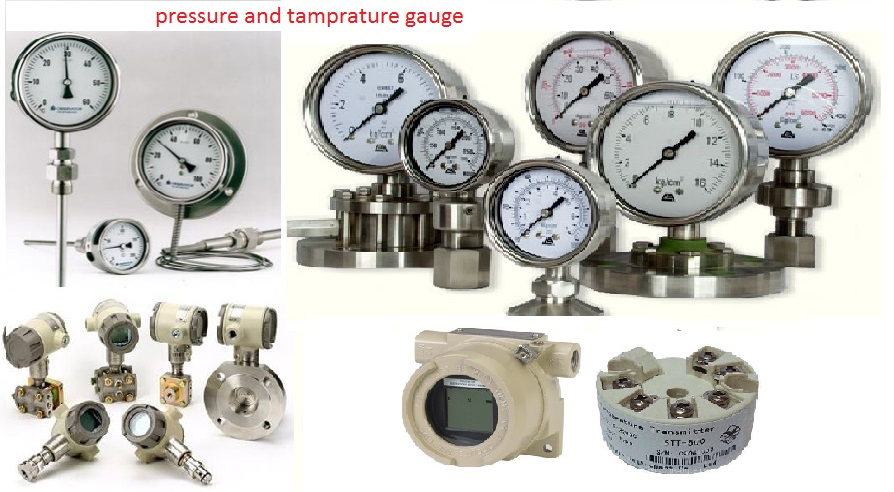 Pressure and Temprature Gauge